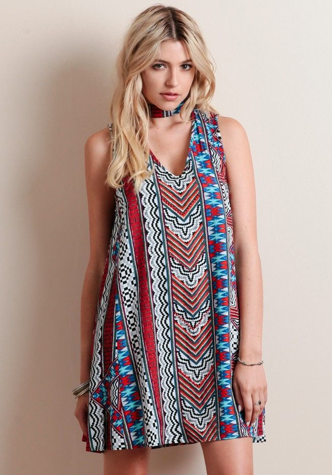 Aztec Island Swing Dress By MINKPINK - Dresses - Clothing ...