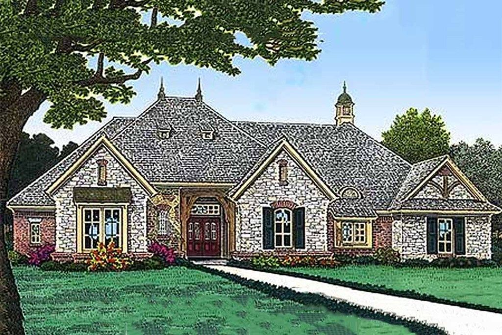 Eplans European House Plan Three Bedroom