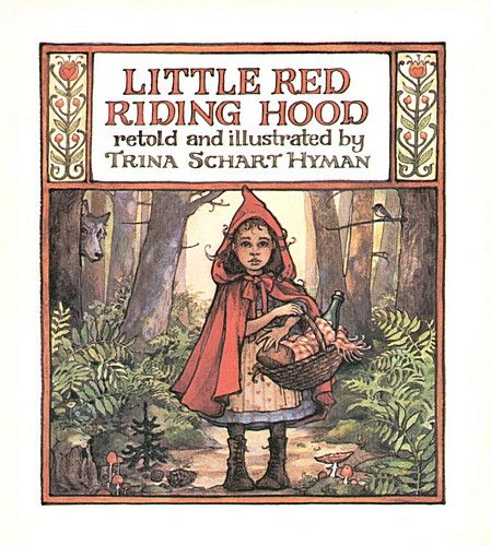 Image result for trina schart hyman little red banned
