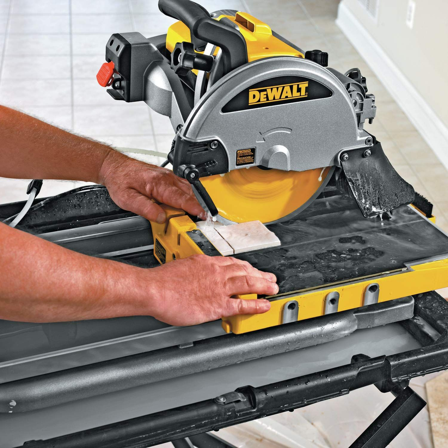 Dewalt D24000s Wet Tile Saw Tile Saw Power Saws Dewalt
