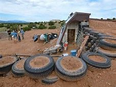images earthship construction - Bing Images