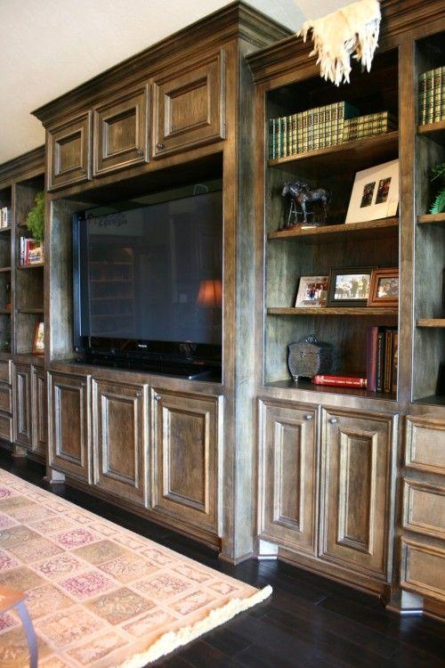 Family Room Built In Home Entertainment Entertainment Center