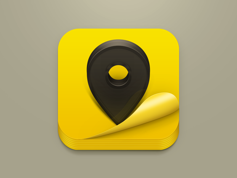 Yellow Pages iOS Icon