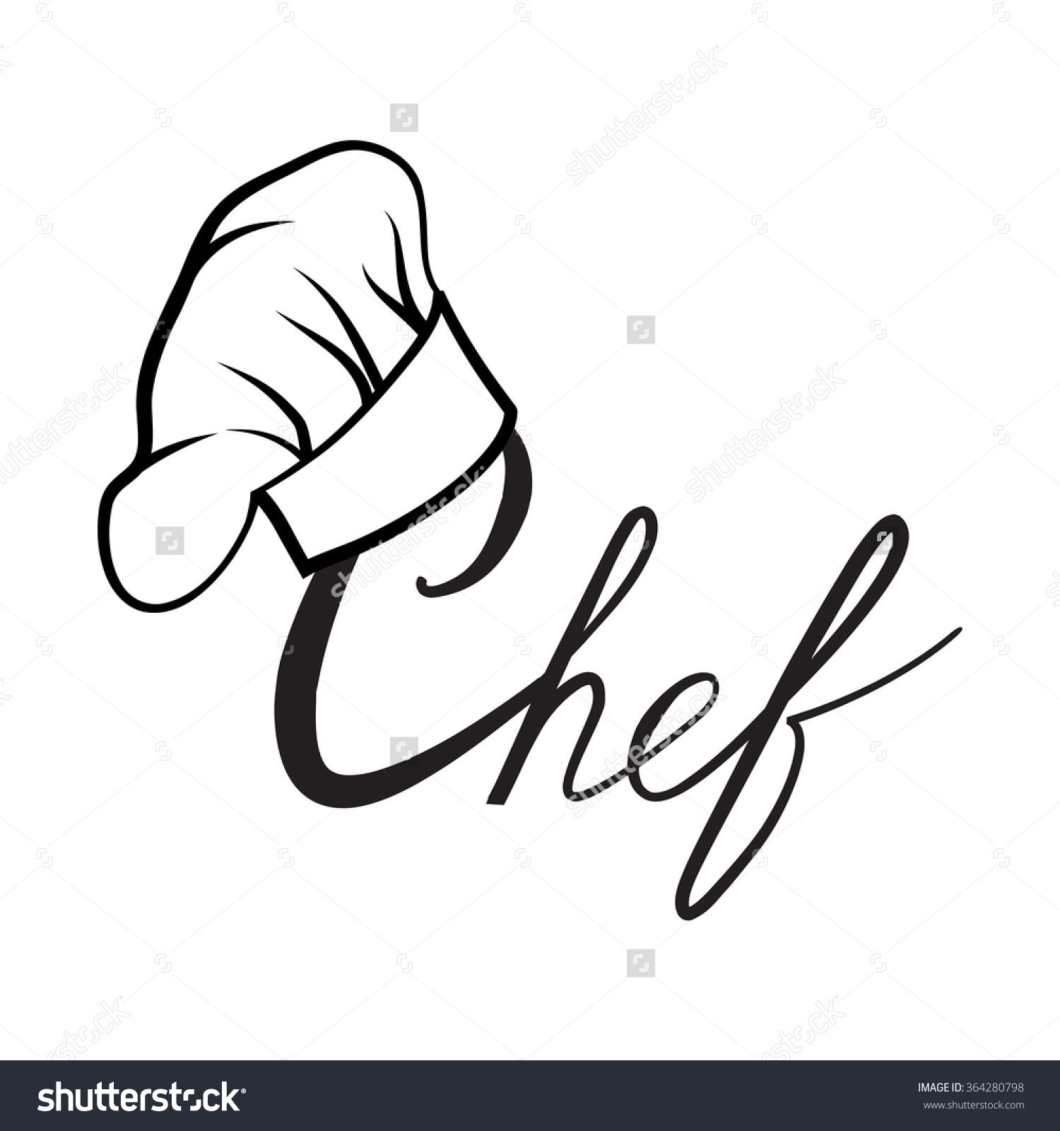 cook hat drawn hat chef cook stock vector 364280798 shutterstock Prep Chef Resume cook hat drawn hat chef cook stock vector 364280798 shutterstock