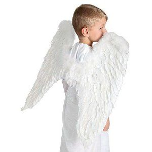 Feather Angel Wings Children's Halloween Party Costume Accessories