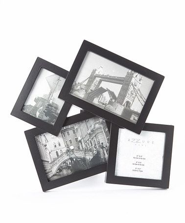 Look At This Zulilyfind Black Four Picture Collage Frame By Azzure