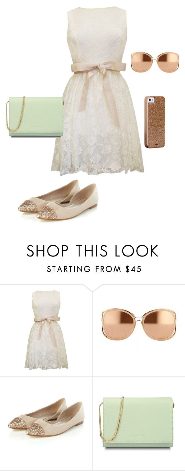 """""""Easter"""" by sadie3132 on Polyvore featuring Linda Farrow, Lipsy, CHARLES & KEITH and Case-Mate"""