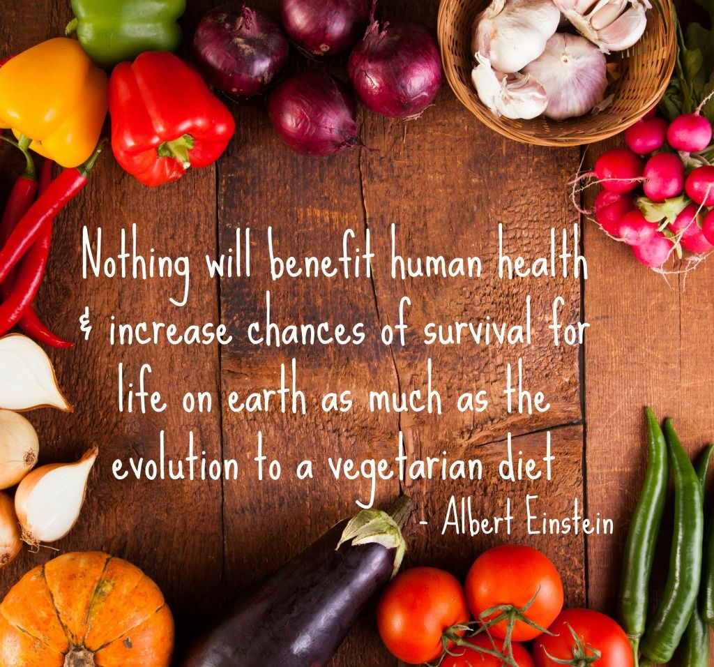 Albert Einstein Quote Nothing Will Benefit Human Health And Increase The Chances For Survival Of Life On Eart World Vegan Day Healthy Groceries Vegetarian Diet