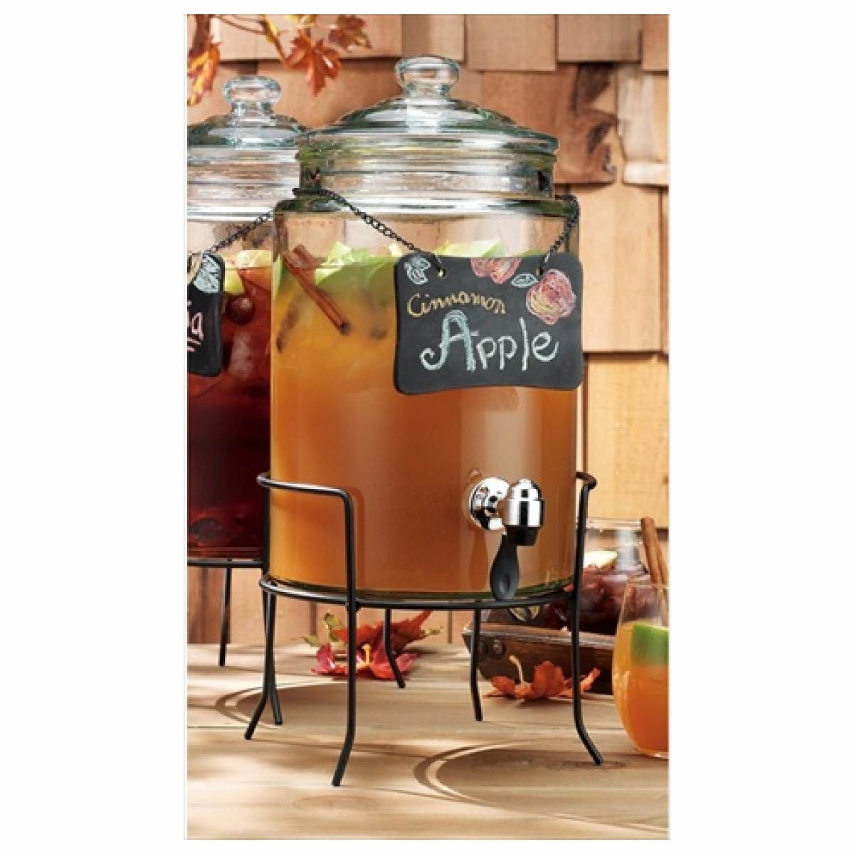cool Home Essentials 1858 Del Sol 1.5 Gallon Chalkboard Jug With Rack,  #HomeEssentialsJuicers&Blenders