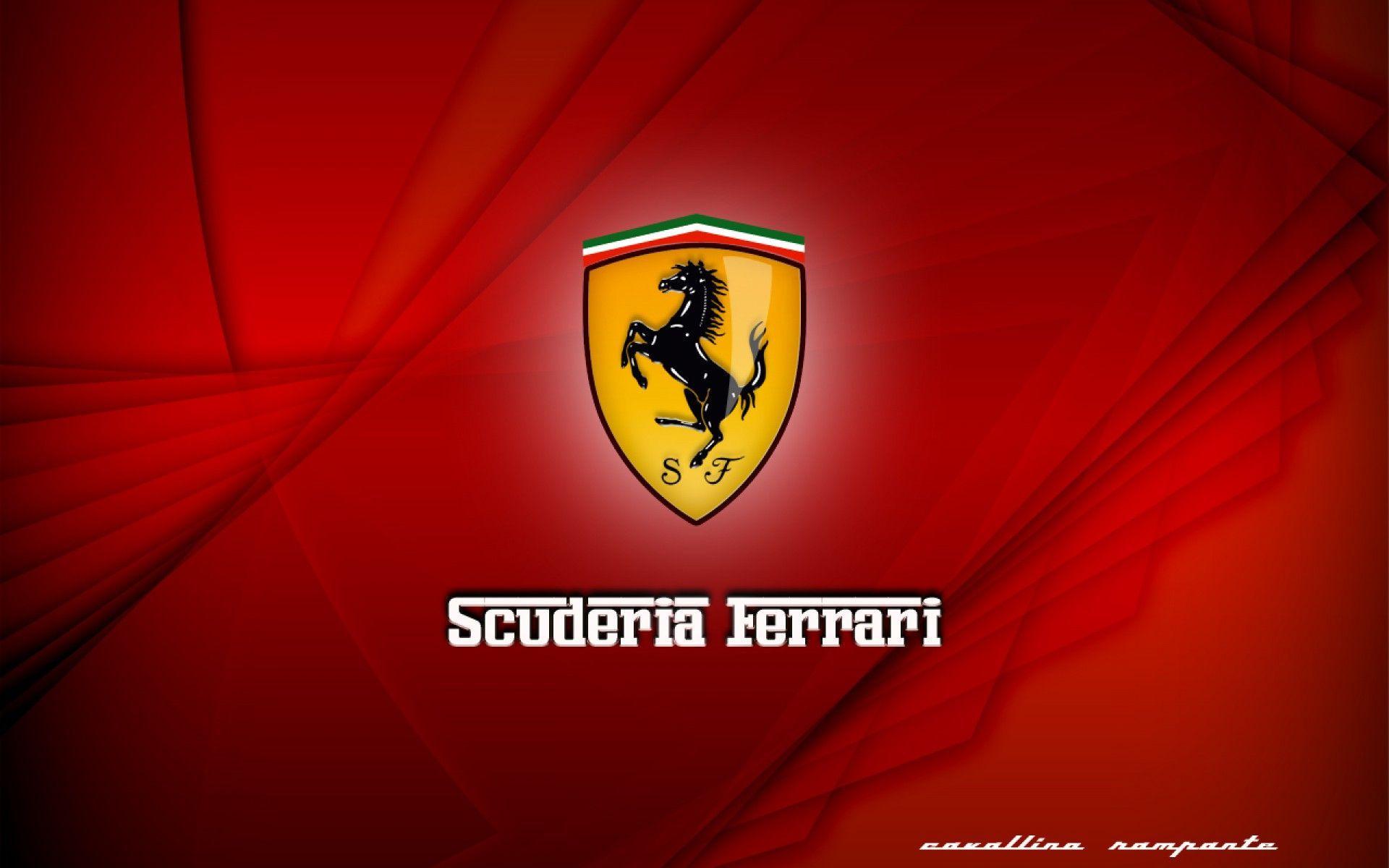 Ferrari Logo Wallpaper High Quality Ferrari Logo Ferrari Logo