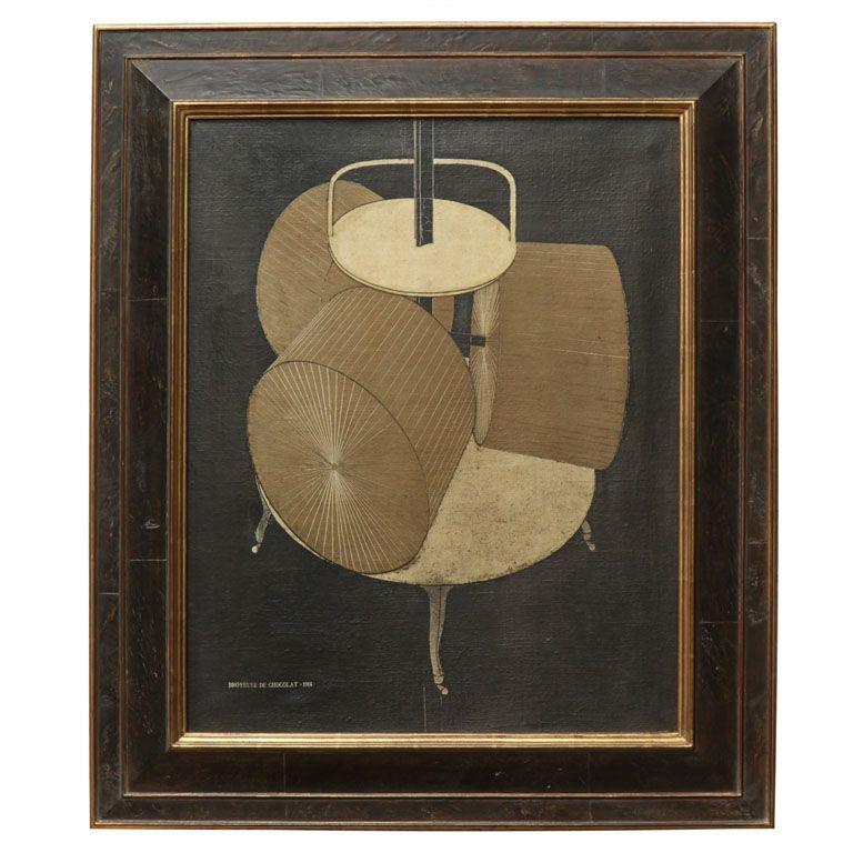 Marcel Duchamp Vintage Reproduction