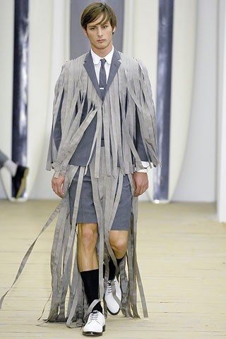 Thom Browne Spring 2008 Menswear Fashion Show