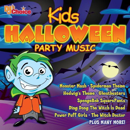 DJ\'s Choice - Kids Halloween Party Music | Halloween Albums ...