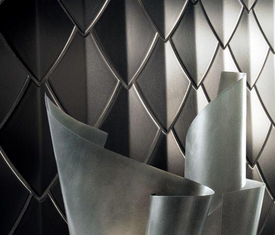 """Snake of Kale"" by Can Yalman.  Ceramic tiles"