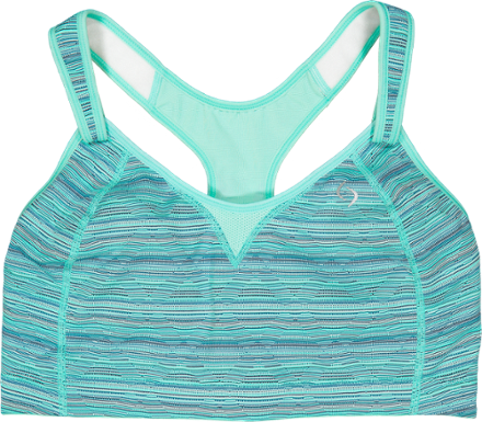 de70191ca The Rebound Racer sports bra from Moving Comfort offers high-impact  activities such as running