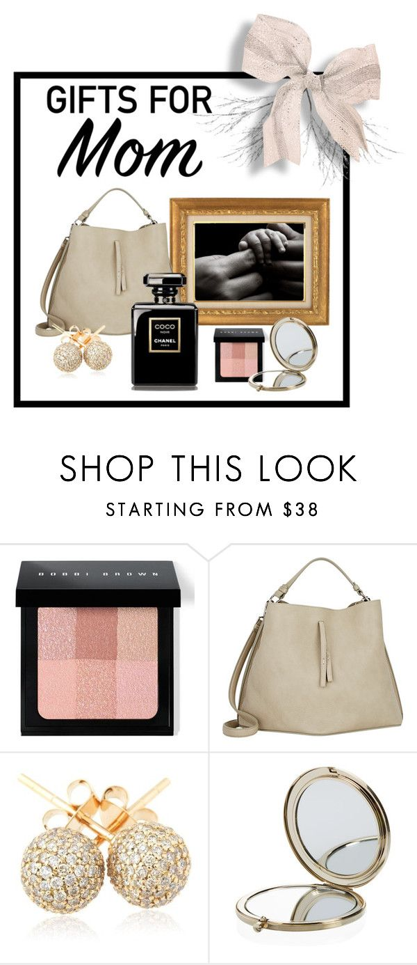 """""""Untitled #219"""" by sandystyle888 ❤ liked on Polyvore featuring Bobbi Brown Cosmetics, Maison Margiela, Loushelou, Henri Bendel, Crate and Barrel and holidaygiftformom"""