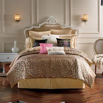 Juicy Couture Animal Instinct 3 pc  Comforter Set   Full Queen. Juicy Couture Animal Instinct 3 pc  Comforter Set   Full Queen