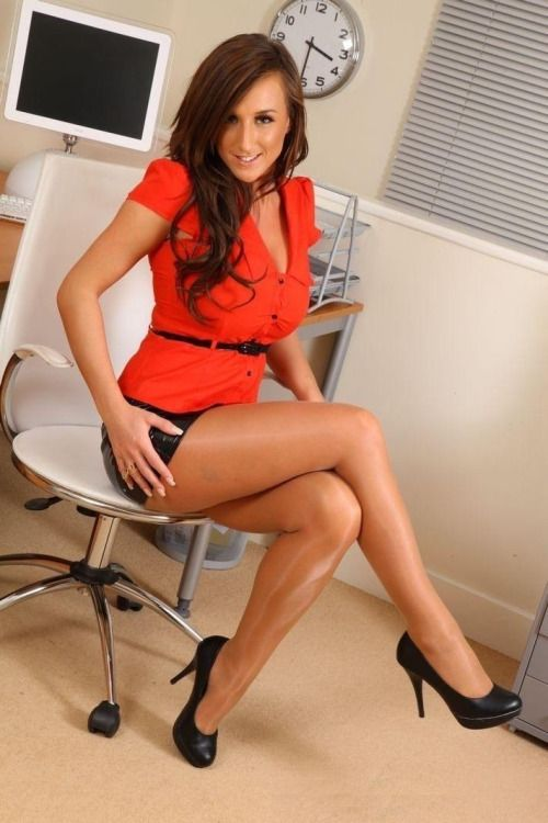 pantyhose stockings in Ebony legs