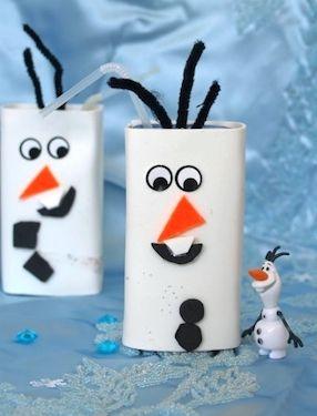 Disney Frozen Crafts 25 Awesome Ideas Winter Knutselideeën