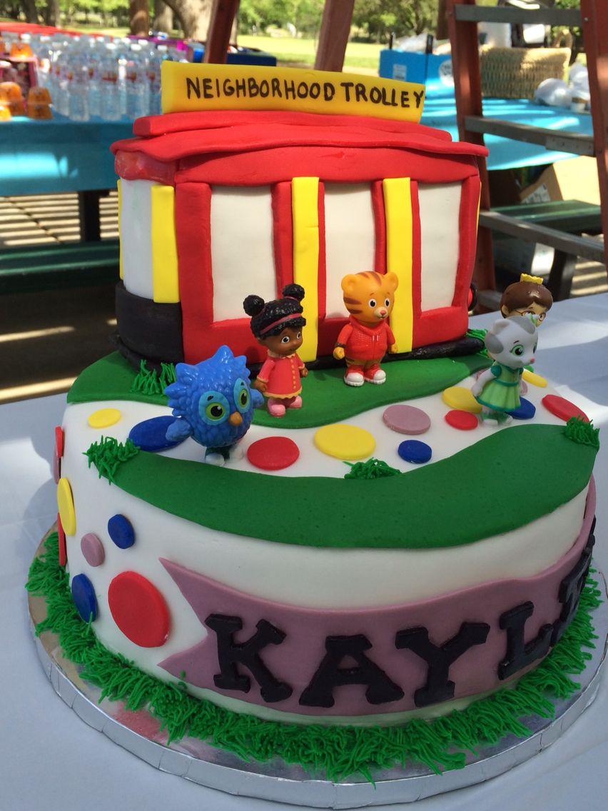 Daniel tiger cake daniel tiger birthday cake daniel