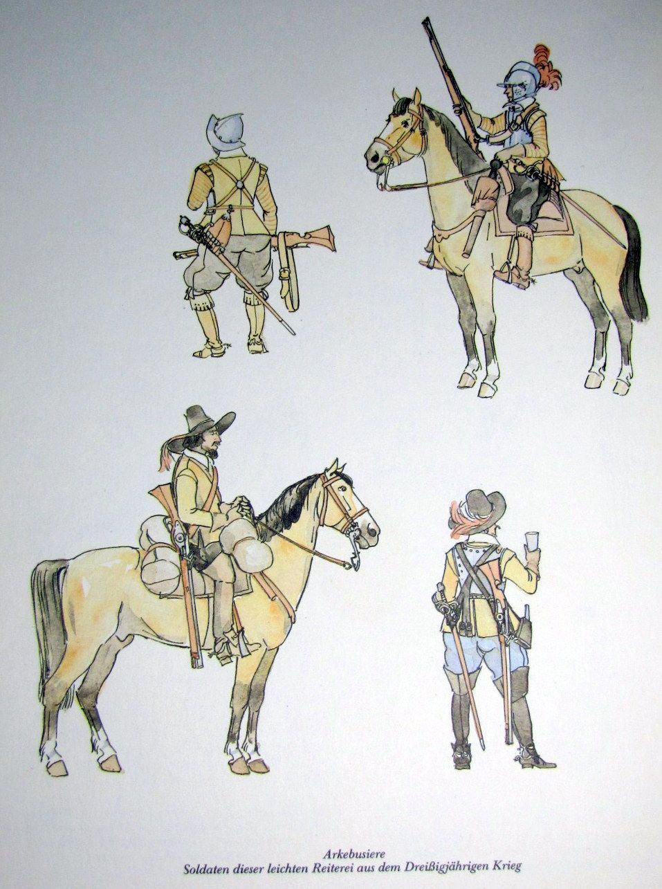 german musketeer thirty years war thirty years war art arquebusiers thirty years war