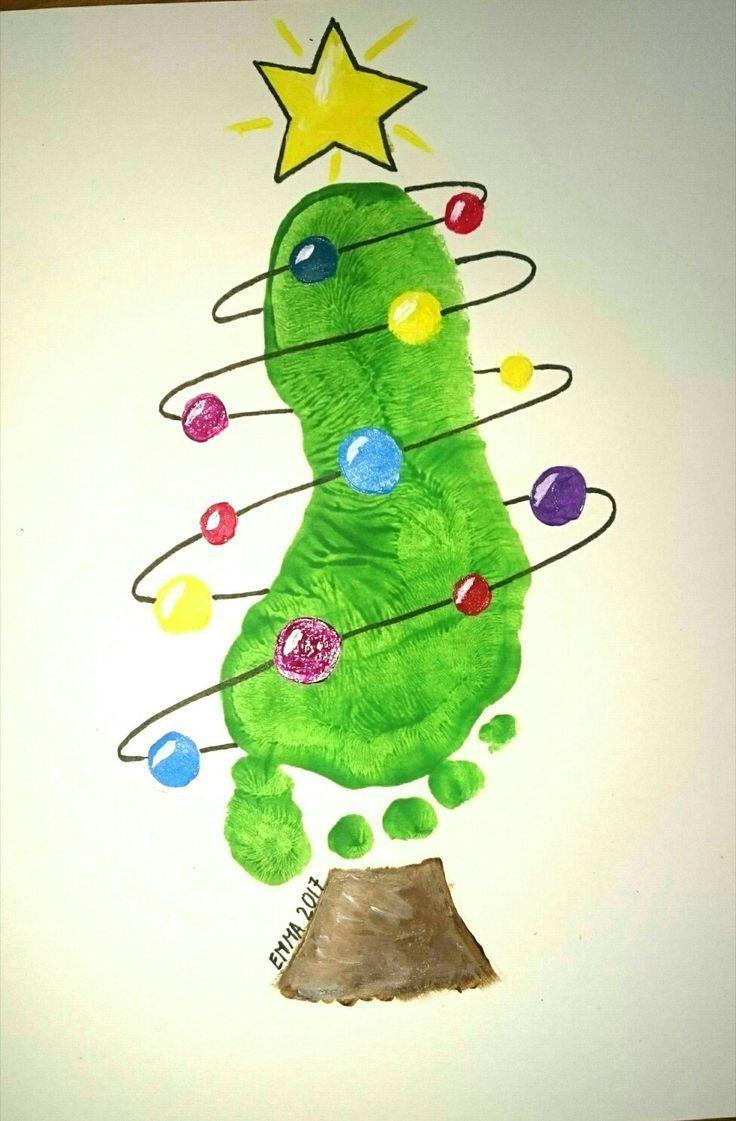 Footprint Kids Weihnachtsbaum Weihnachten - Eugenia - #Eugenia # Footprint ...