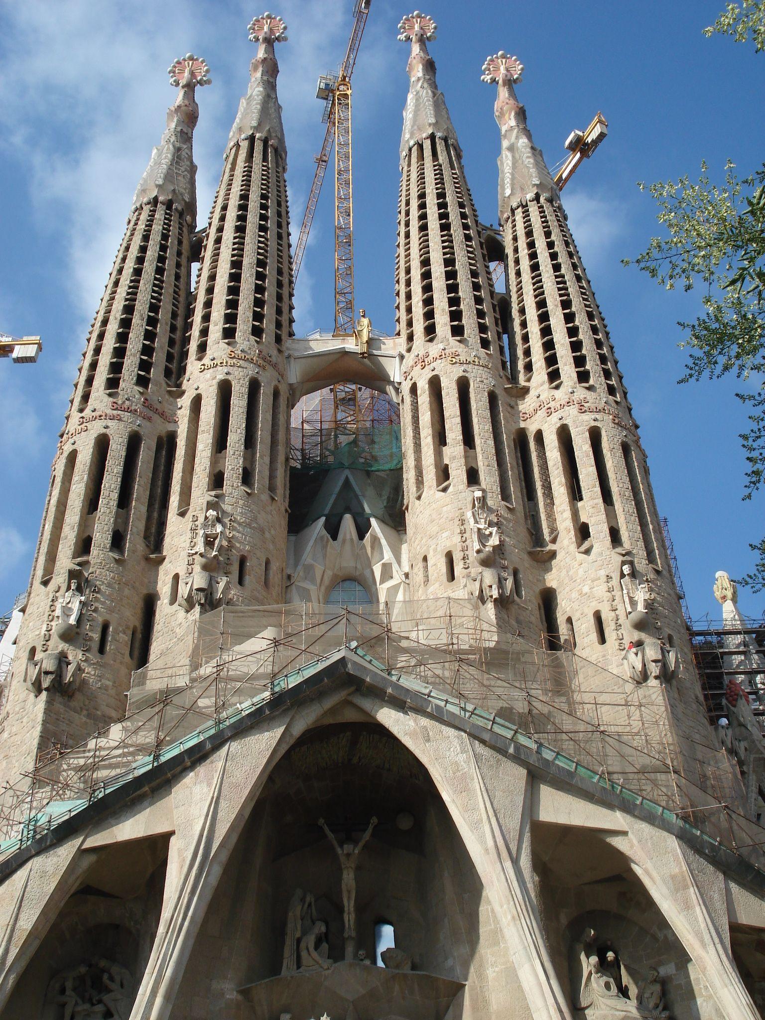 Bas lica de la sagrada fam lia in barcelona espa a for La sagrada familia church