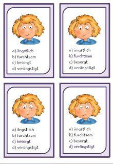 krabbelwiese: Gefühle | Kinder Schule | Pinterest | Teaching ideas