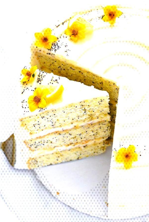Lemon Poppy Seed Cake   The Cake Blog Lemon Poppy Seed Cake   by Carrie Sellman for