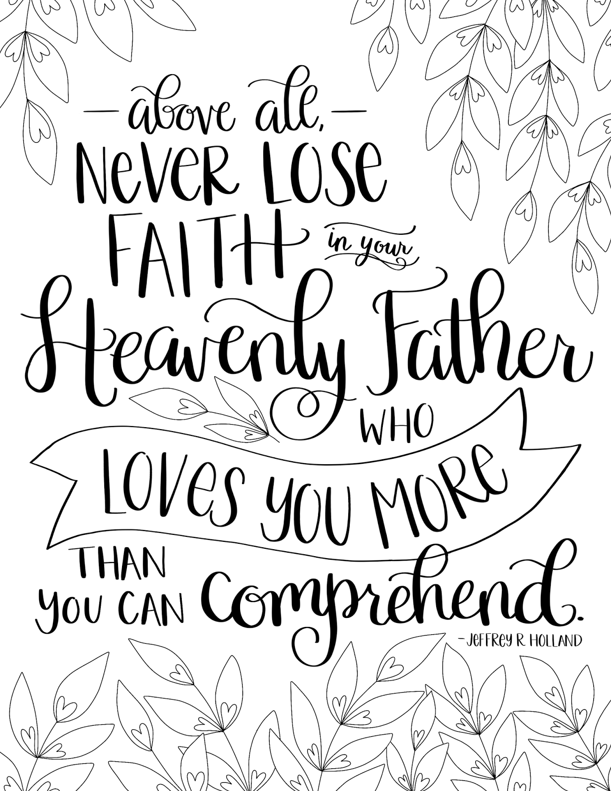 Happy Father\'s Day, friends! This week\'s coloring page celebrates ...
