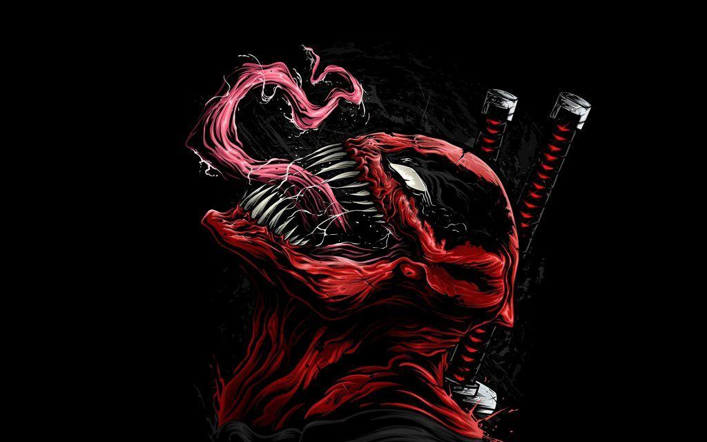 iPhone X Wallpaper Screensaver Background 139 Deadpool 4k