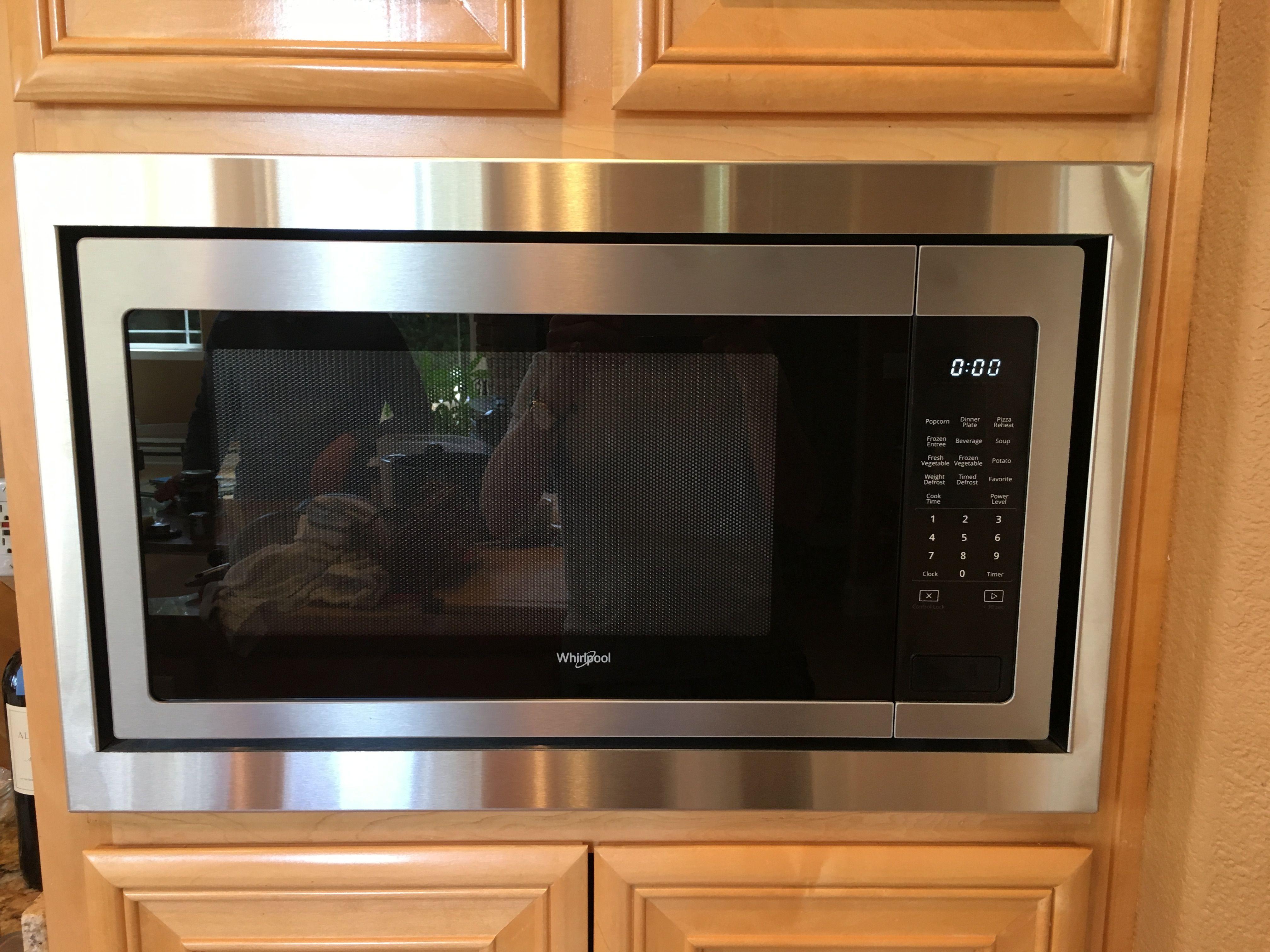 microwave trim kit microwave oven