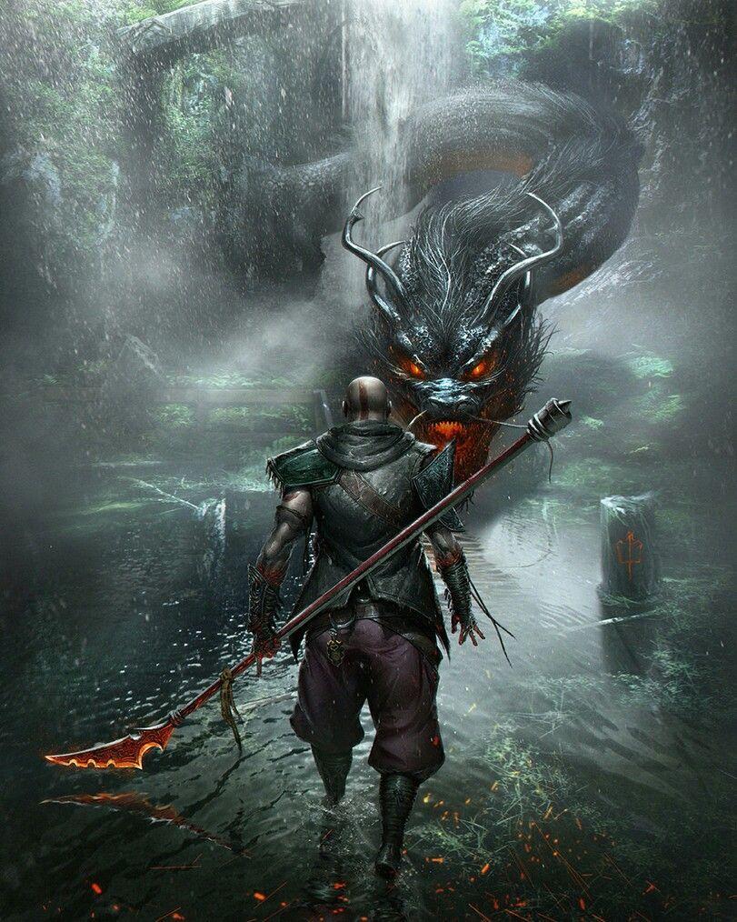 Fantasy Fantasy Chinese Mythology God Of War Kratos