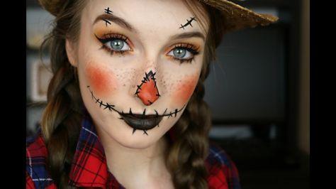 scarecrow halloween makeup 2017  jaclyn hill x morphe