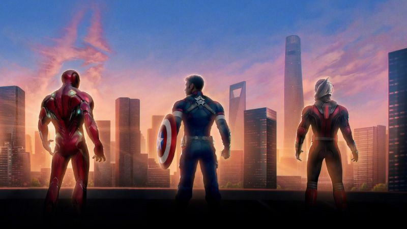 HD Avengers Wallpaper Download Free