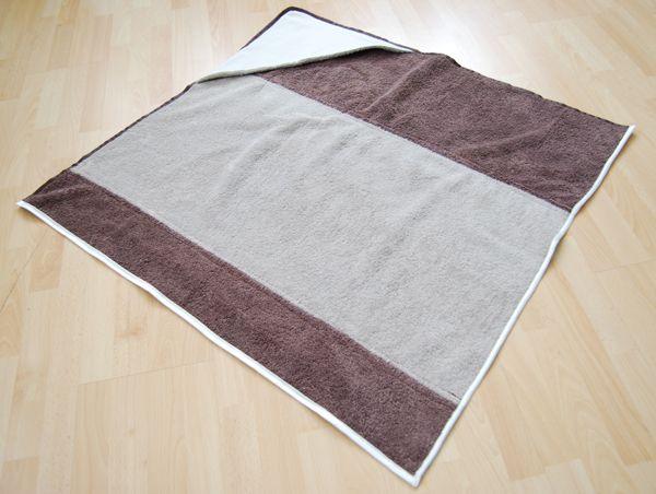 hooded towel tute