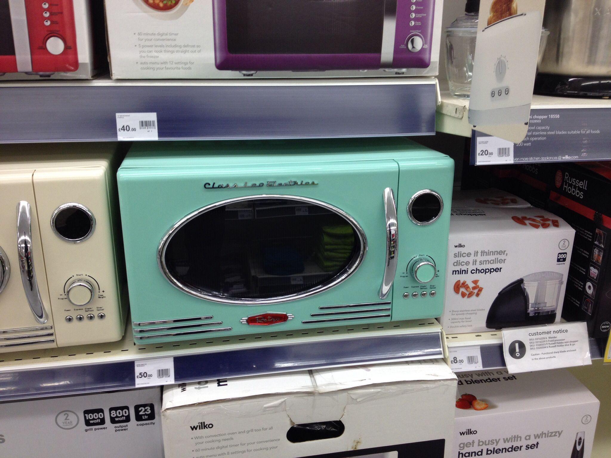 Retro Microwave From Wilco 163 50 Retro Retro Kitchen