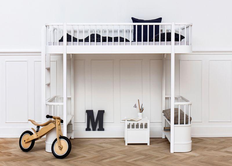 Oliver Furniture Wood Loft Bed Kids Modern Beds MOOD Oliver