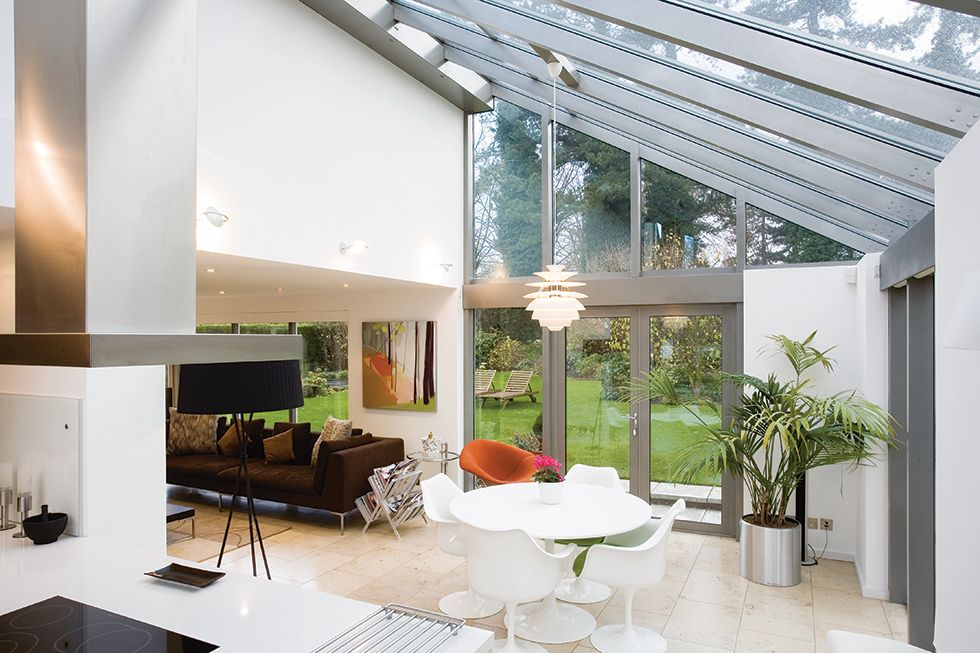 Living Room Extensions Interior Entrancing Contemporary Conservatory Interior  Exterior Of Houses . Inspiration