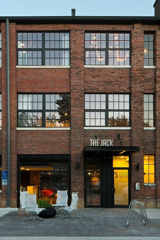warehouse loft apartment exterior. Our Midwestern Studio Loft  A Tour by These Are NOFO CONDO FACADE STYLE commercial awnings canopies Pinterest