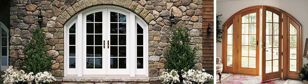 Marvins Arch Top French Patio Doors Doors Pinterest French