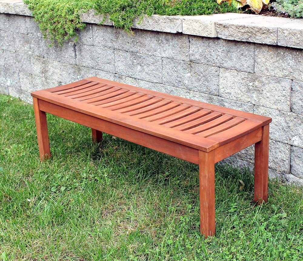 Designs Backless Bench 4 Foot Wood Bench Outdoor Wood Bench Wooden Bench Outdoor