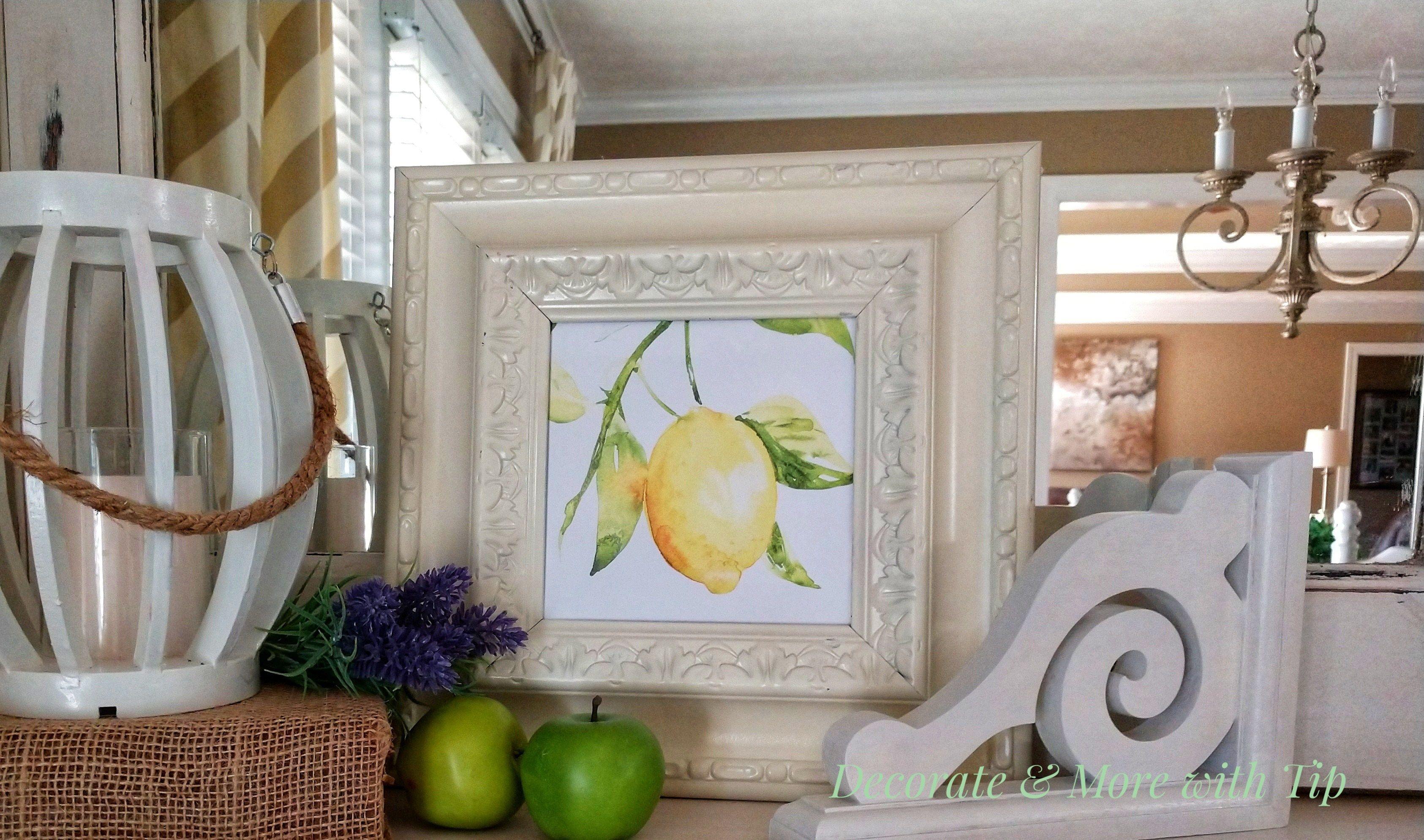 Remarkable Diy Lemon Dollar Tree Craft Inspiration Kitchen Kitchen Interior Design Ideas Helimdqseriescom
