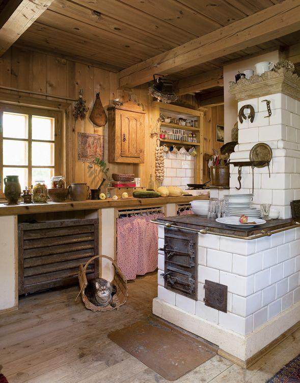 Dzikie Jaczno Dzikie Jaczno Weranda Country Homey Kitchen Rustic Kitchen Rustic House