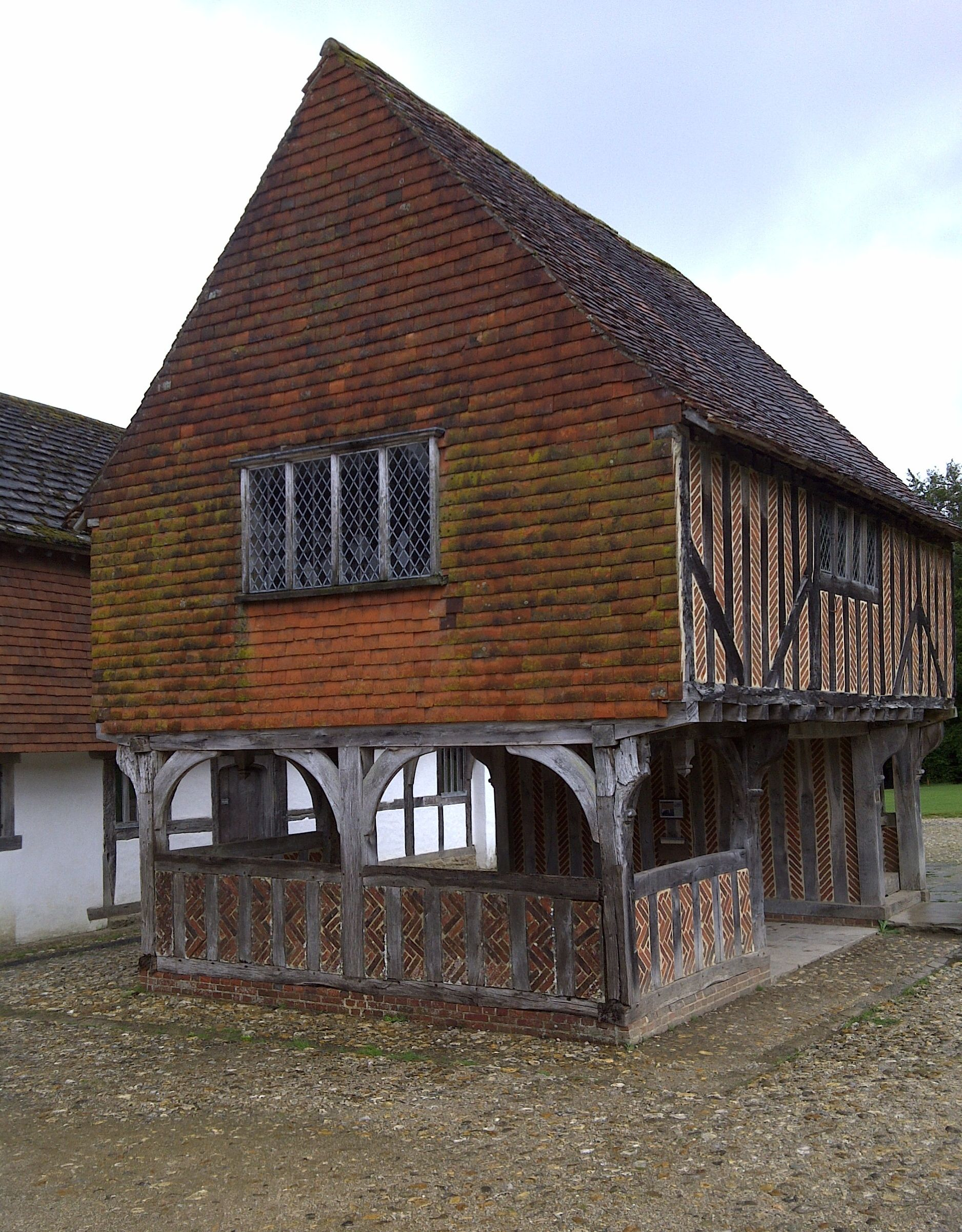 Weald and Downland Museum Medieval houses, English