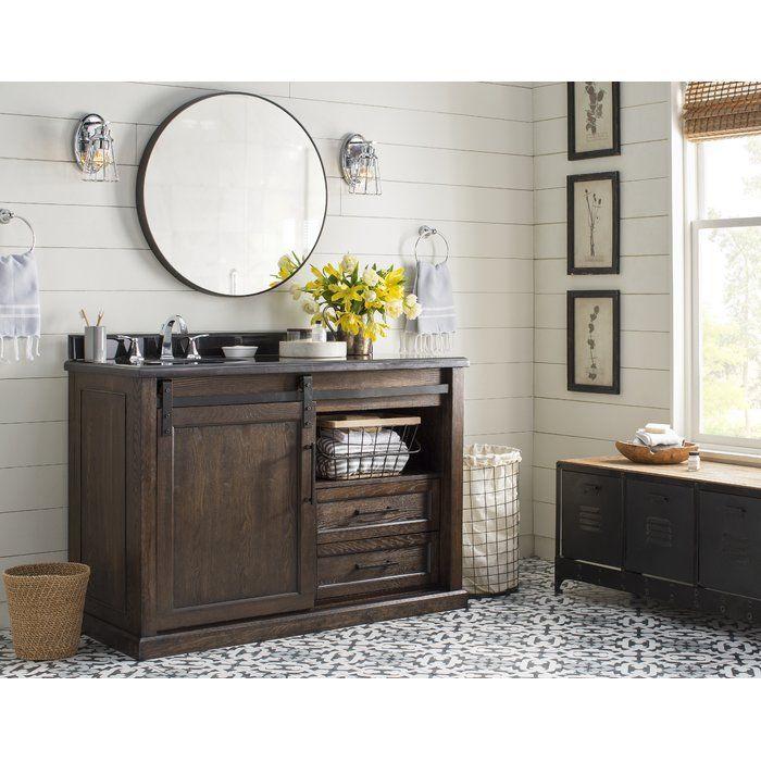 Kenzzi Brina 8 Quot X 8 Quot Porcelain Tile In 2019 Bathroom Single Bathroom Vanity Bathroom Vanity