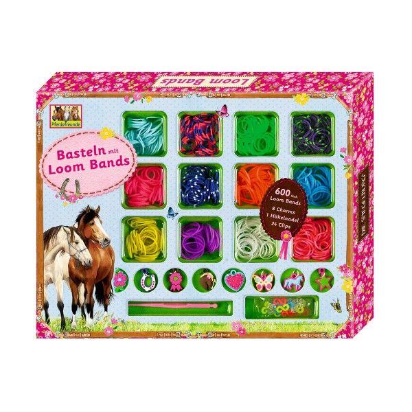 Basteln Pferdefreunde Mit Loom Bands Geschenkidee Pinterest