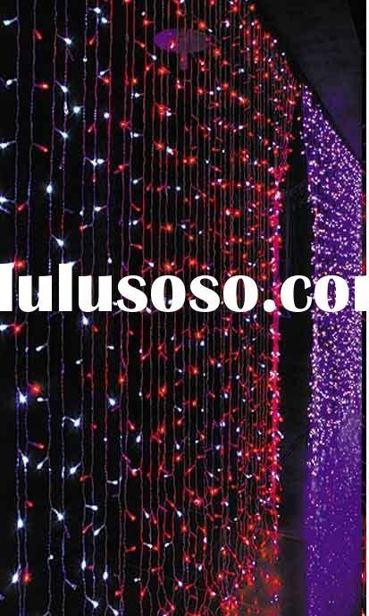 Holiday LED Lamp CE optic fiber curtain light Price: US $ 4 - 74 / Unit