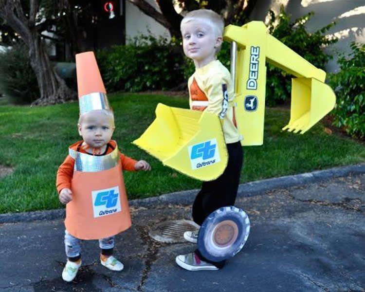 Disfresses per Carnaval de cartró fetes a casa Costumes, Halloween - 1 year old halloween costume ideas