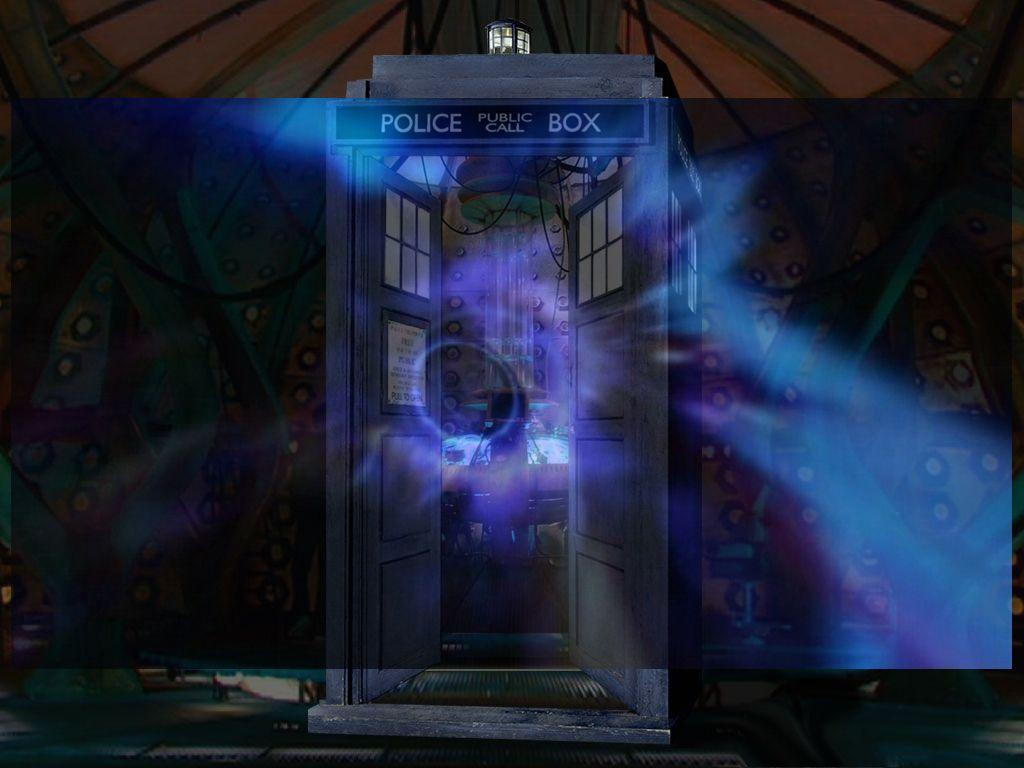 vortex_tardis - doctor-who Wallpaper